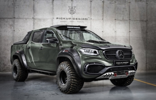 Brutal Mercedes-Benz X-Class presented by Polish tuners