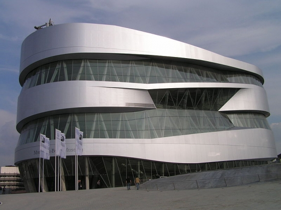 Mercedes-Benz Center - the holy of holies of any fan of a legendary company