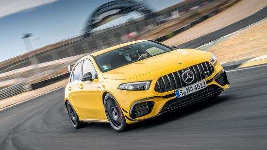 Mercedes-AMG A 45 hatchback test drive and general review
